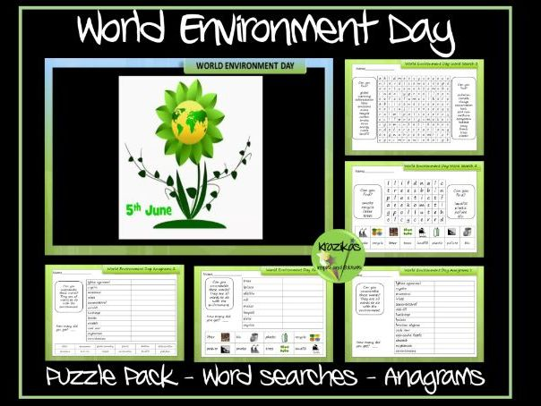 World Environment Day Puzzle Pack