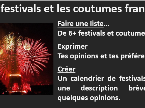Introducing French festivals and customs