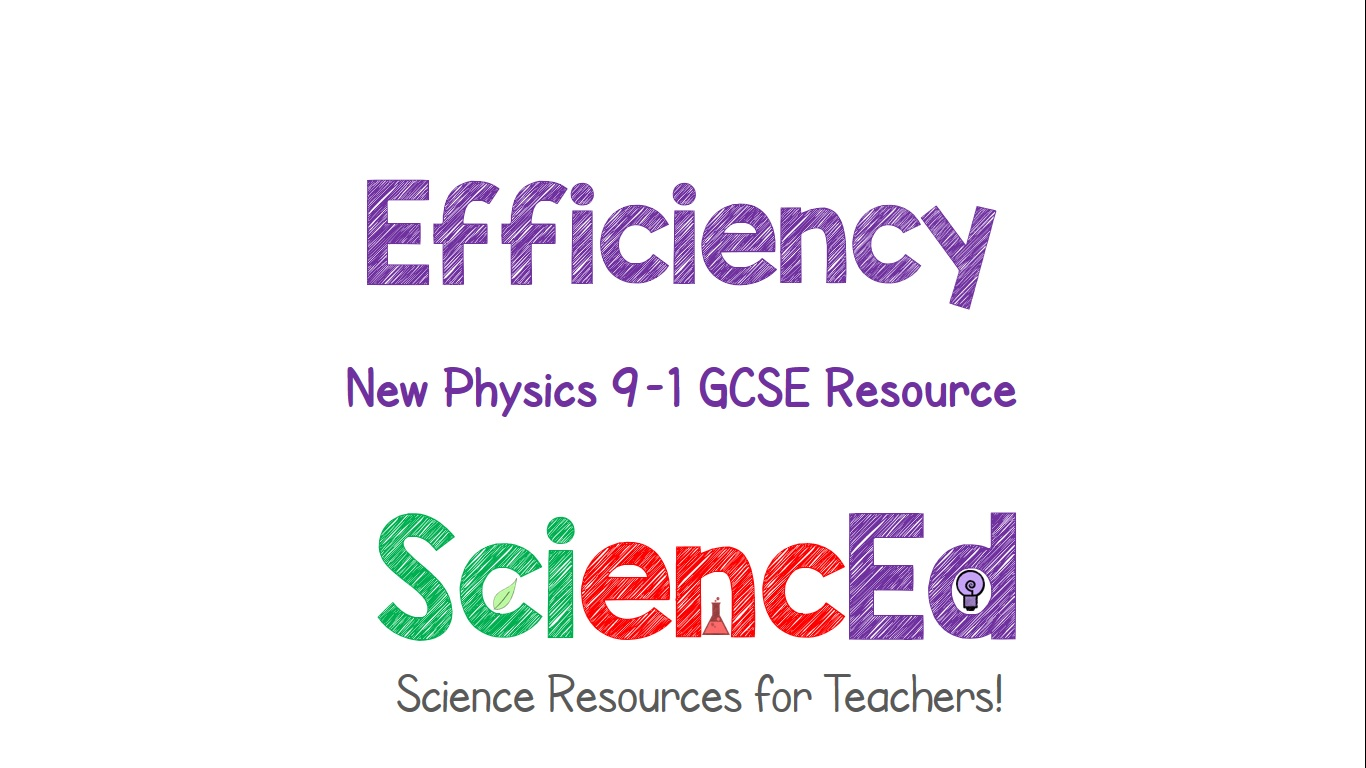 Efficiency of Devices  by SciencEd