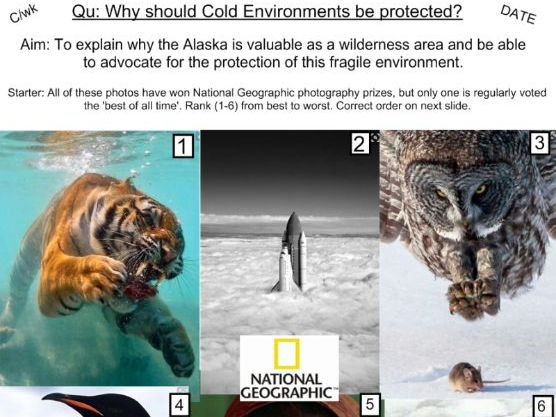 Value of Cold Environments