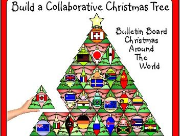 Christmas Around The World Activity Collaborative Bulletin Board Creation