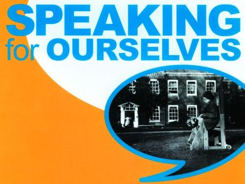 Speaking for Ourselves disability history timeline