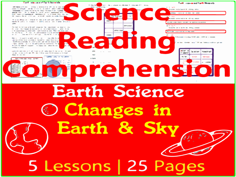 Earth Science Reading Comprehension | Changes in the Earth and Sky | Grade 3-4