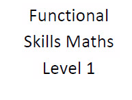 Functional Skills Maths Level 1 Workpack