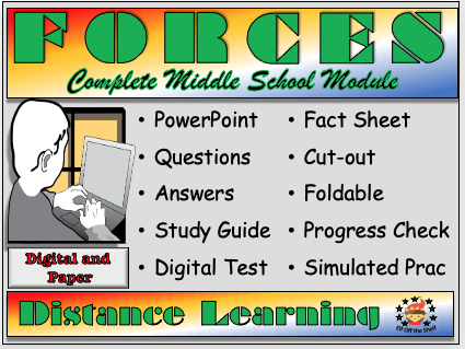 Forces - Complete Distance Learning Module for KS3