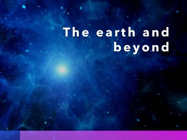 KS3_Secondary 1 checkpoint_worksheet and revision (with answer script): The Earth and beyond