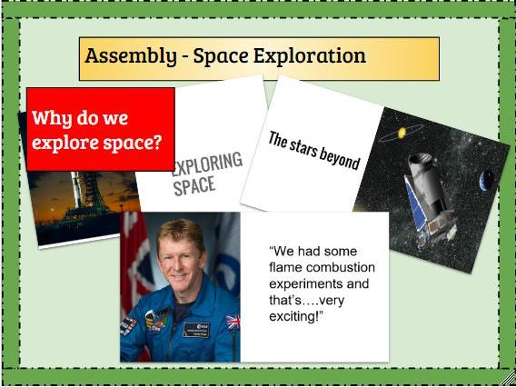 Assembly - Space exploration