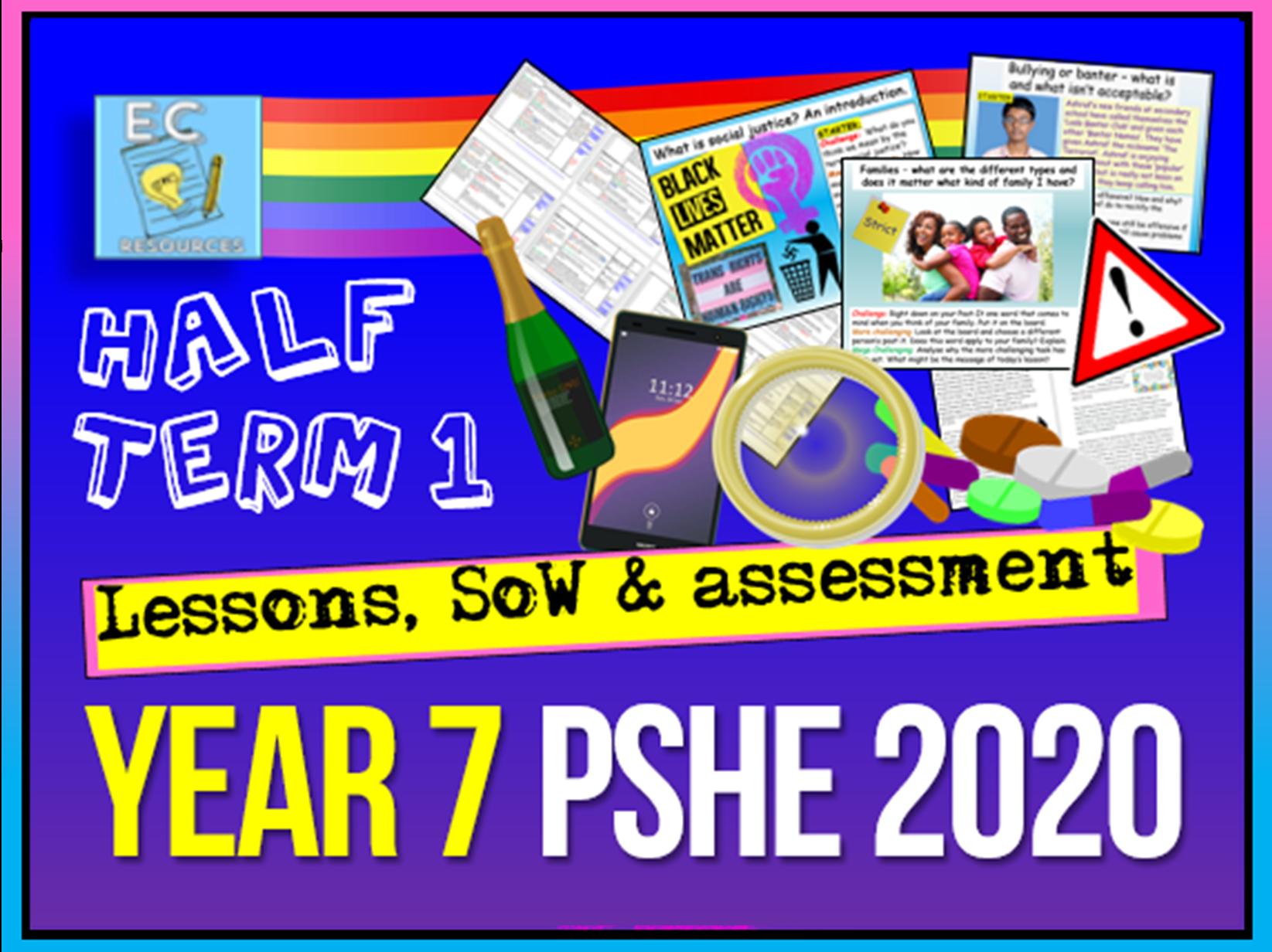 Year 7 PSHE 2020