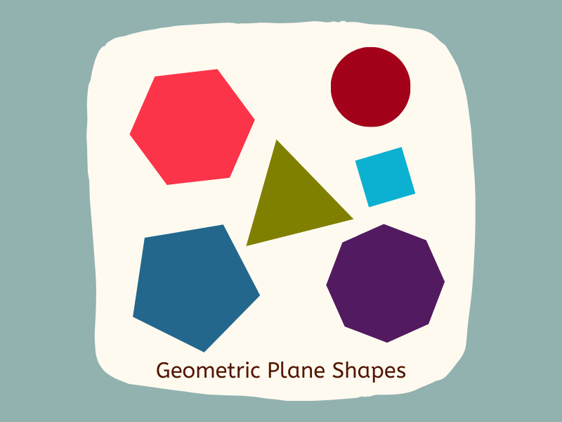 Geometric 2-D Shapes Activities and Posters