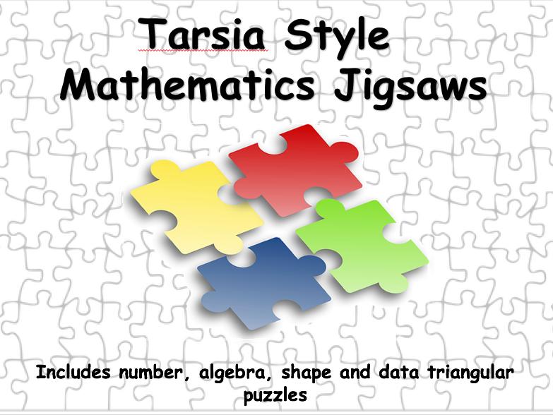 Tarsia Style Jigsaw Template