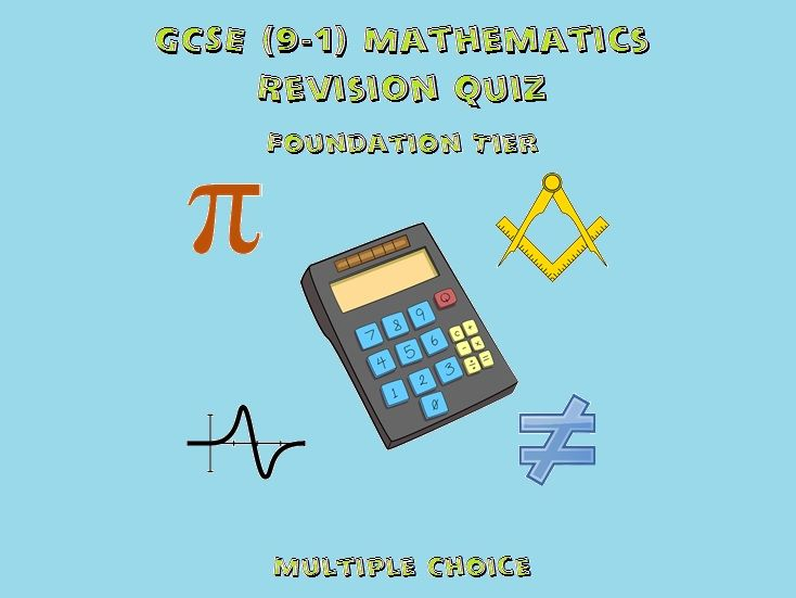 GCSE Mathematics Revision Quiz: Foundation Tier