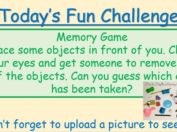 14 Fun Daily Challenges