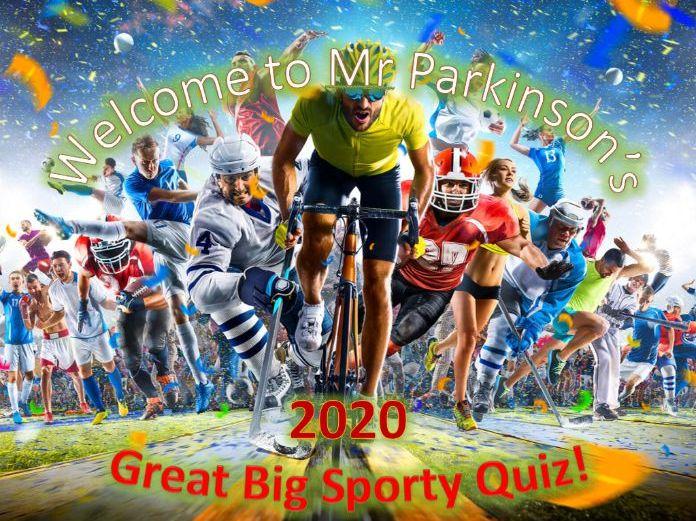 Mr Parkinson's Great Big Sports Quiz
