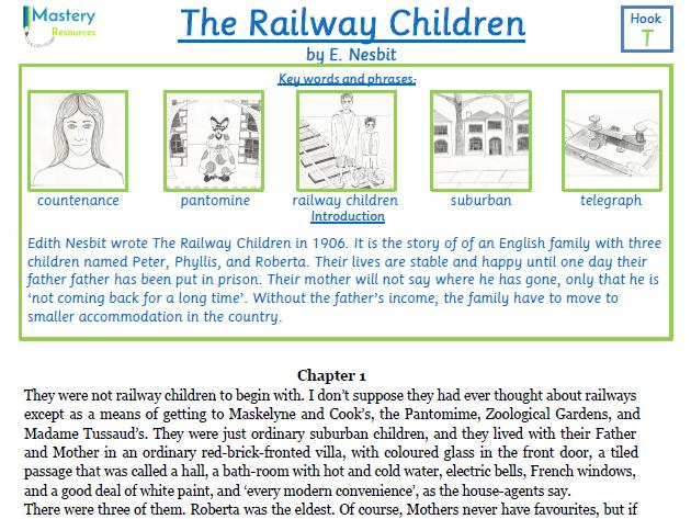 The Railway Children by E. Nesbit Comprehension KS2
