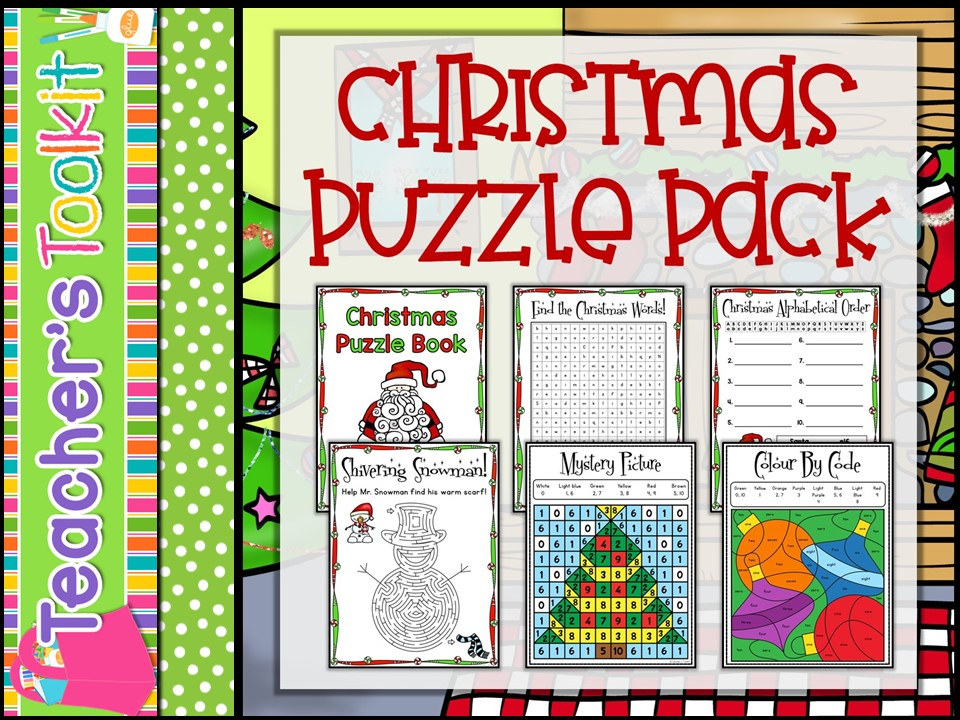 Christmas: Christmas Puzzle pack
