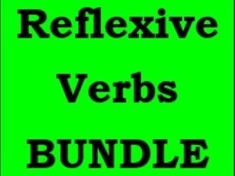 Verbi riflessivi (Italian Reflexive Verbs) Bundle