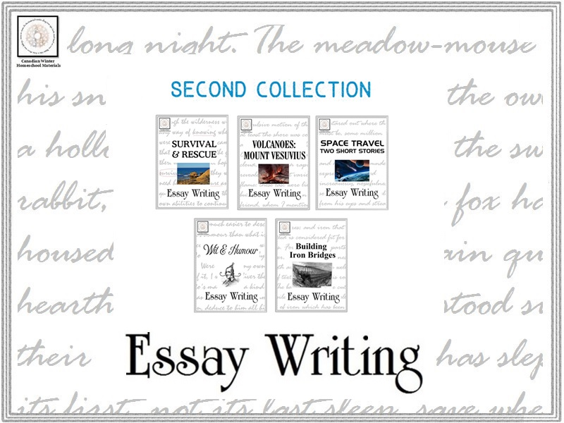 Essay Writing: Second Collection