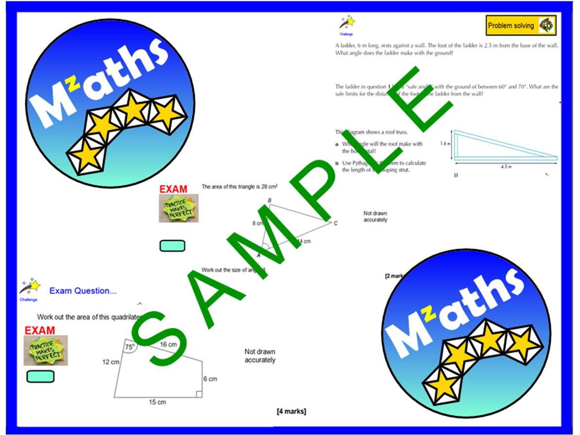 Trigonometry/Sine Rule/Cosine Rule Bundle (7 Lessons)