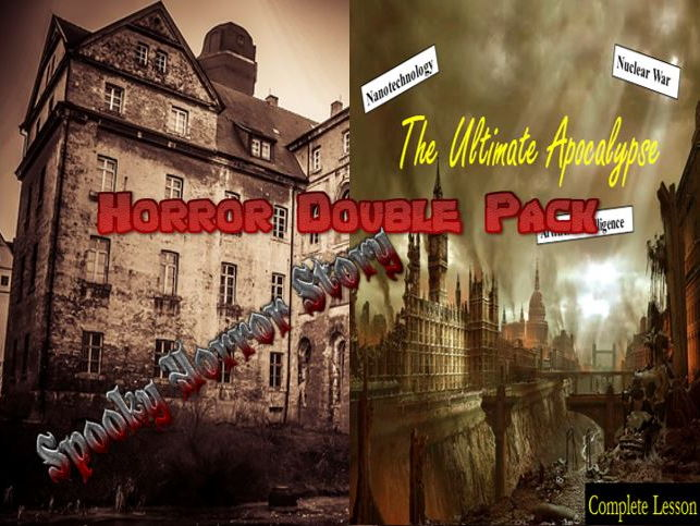 Horror Double Pack 3 - Creative Writing