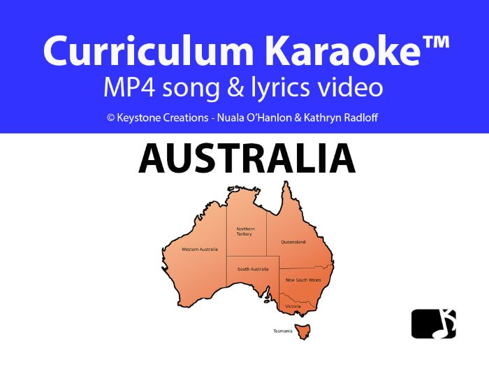 'AUSTRALIA' (Grades 3-7) ~ Curriculum Song Video