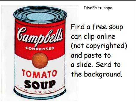 Making Soup- Preparando Sopa- A Bilingual Art and Tech Creativity Project