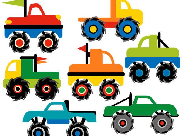 Clip Art Monster Trucks Teaching Resources