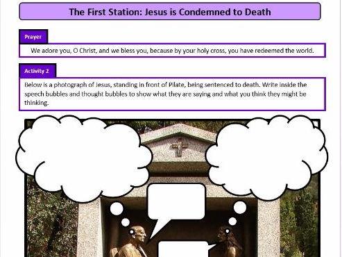 Lent: Stations of the Cross for KS2