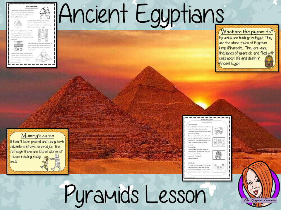 Ancient Egyptian Pyramids  - Complete History Lesson