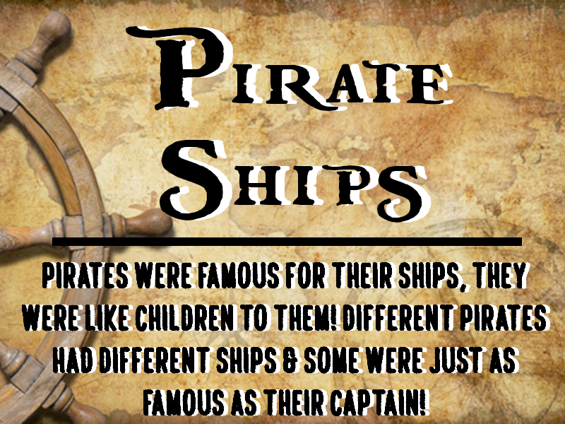 Famous Pirate Ships