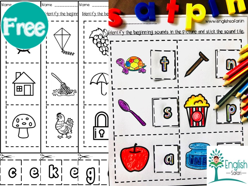 Jolly Phonics Stick The Beginning Sounds Teaching Resources
