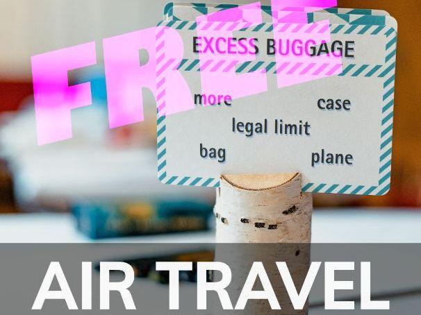 AIR TRAVEL- TABOO -Upper Intermediate
