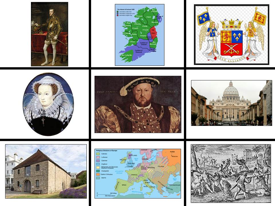 What was Europe like in 1500? An introduction to Tudor/Elizabethan England for GCSE