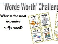 Maths challenge with spelling too!