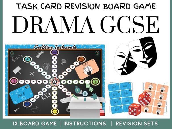 Drama GCSE Revision Board Game