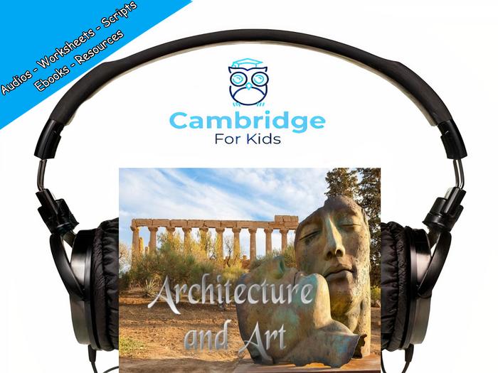Greek Architecture & Greek Art Audiobook & Comprehension Activities / Worksheets / eBooks
