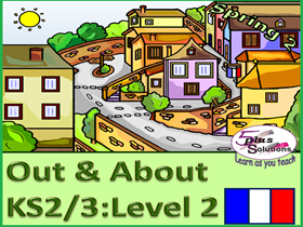 SIX LESSON PRIMARY KS2/3 FRENCH UNIT: Accommodation, surroundings, opinions, region, song.