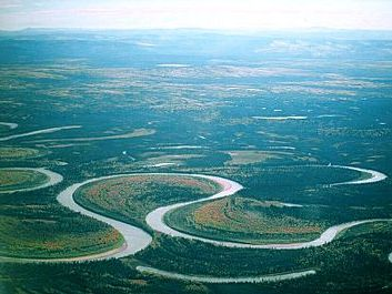 GCSE Geography - Meanders and Oxbow Lakes