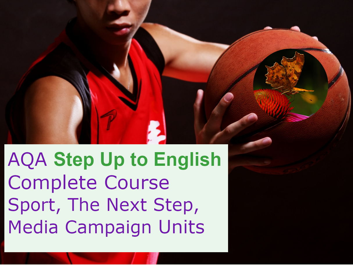 AQA Step Up to English: Complete Course (Sport, The Next Step and Media Campaigns Units)