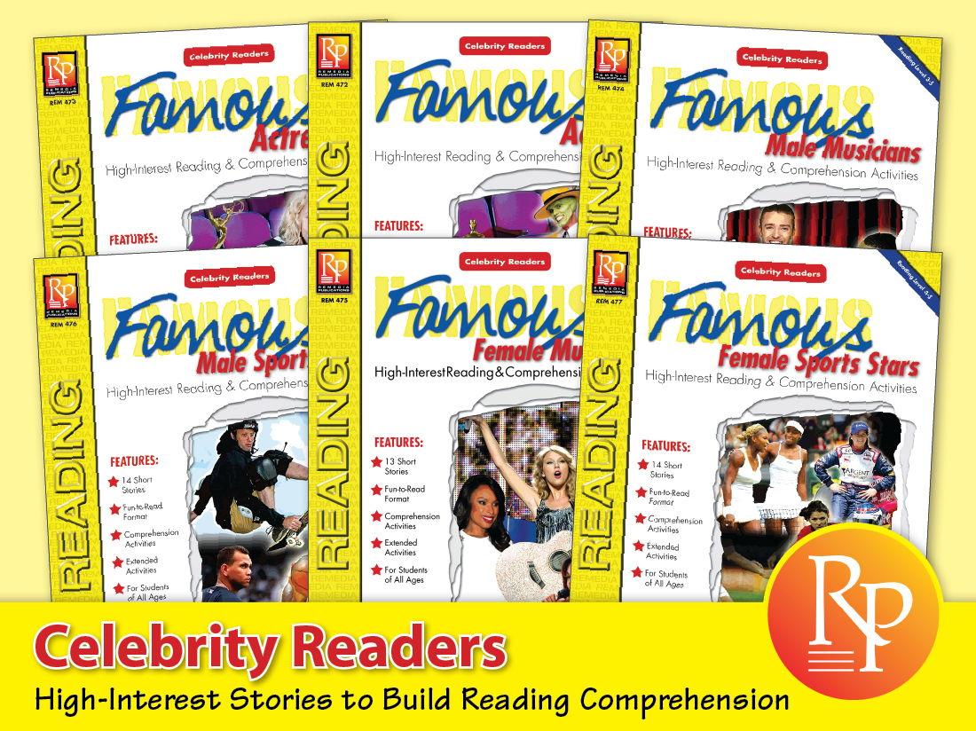 Celebrity Readers {Bundle}