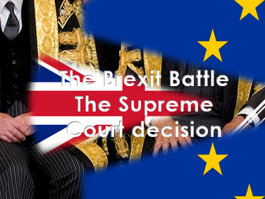 Citizenship: British Values: The European Union – Brexit: The Supreme Court Ruling (January 2107)