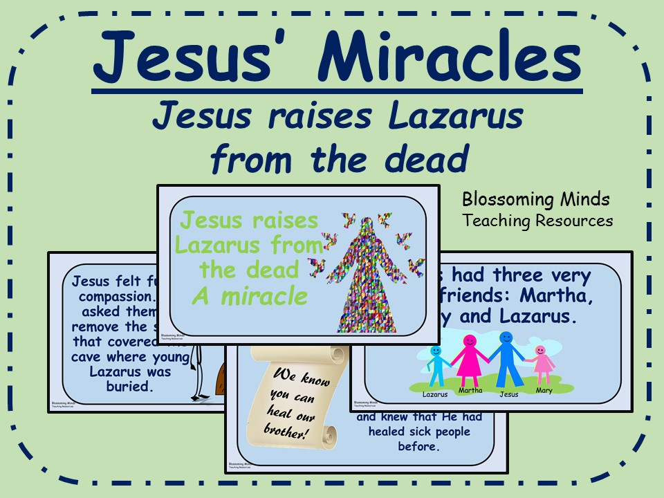 Jesus' Miracles - RE/Assembly presentation - Jesus raises a man from the dead