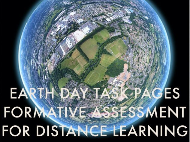 Earth Science - Levelled task cards (Formative assessment) for distance learning
