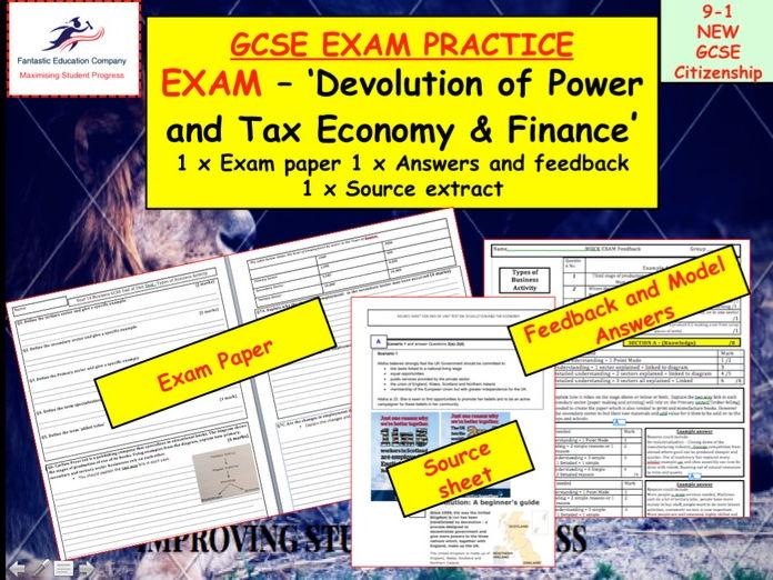 GCSE Citizenship Exam 9-1