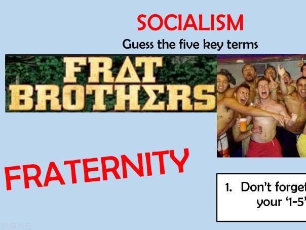Socialism - Edexcel A Level Politics - Political Ideologies