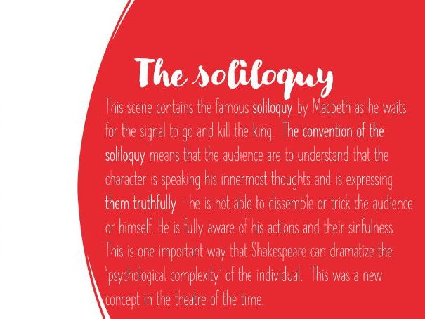 Macbeth Act 2 scene 1 - The Dagger Soliloquy