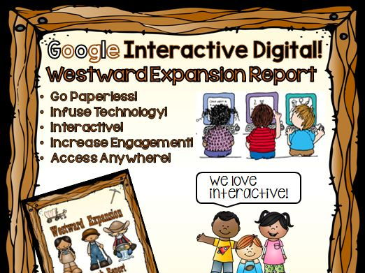 Google Drive Westward Expansion Report for Google Classroom