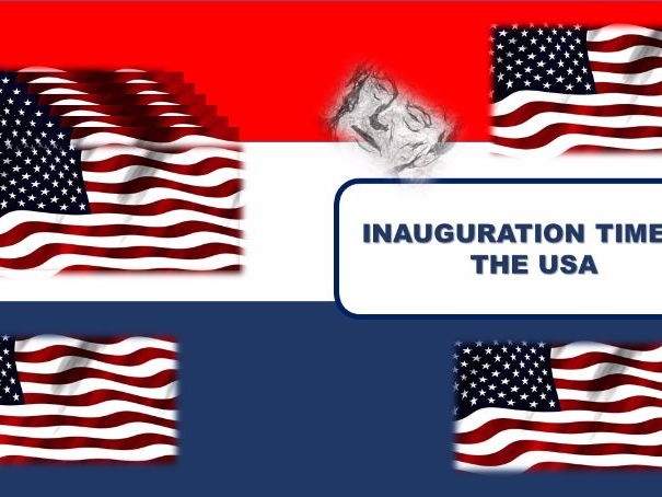 US Elections- inauguration of the new president