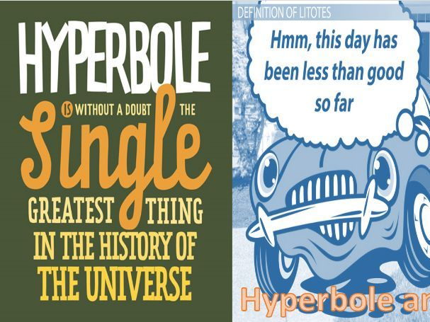 An introduction to hyperbole and litotes