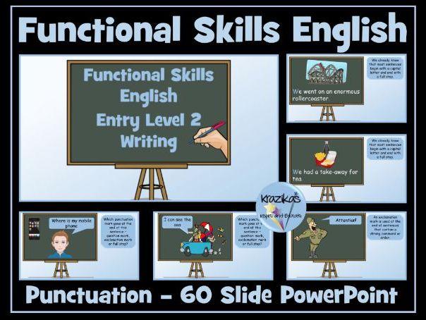 Entry Level 2 Functional Skills English - Punctuation