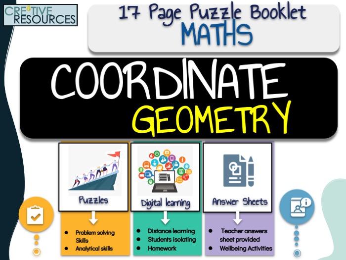 Maths Work Booklet Coordinate Geometry